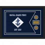 "Navy 28"" x 20"" Guidon Design 2820-D1-M5"