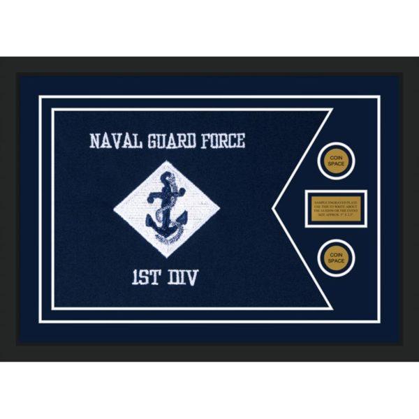 """Navy 28"""" x 20"""" Guidon Design 2820-D1-M5"""