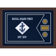 "Navy 28"" x 20"" Guidon Design 2820-D1-M6"