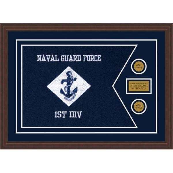 """Navy 28"""" x 20"""" Guidon Design 2820-D1-M6"""