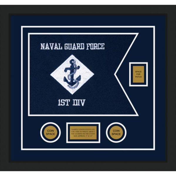 "Navy 20"" x 15"" Guidon Design 2015-D2-M5"
