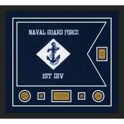 """Navy 28"""" x 20"""" Guidon Design 2820-D2-M5"""