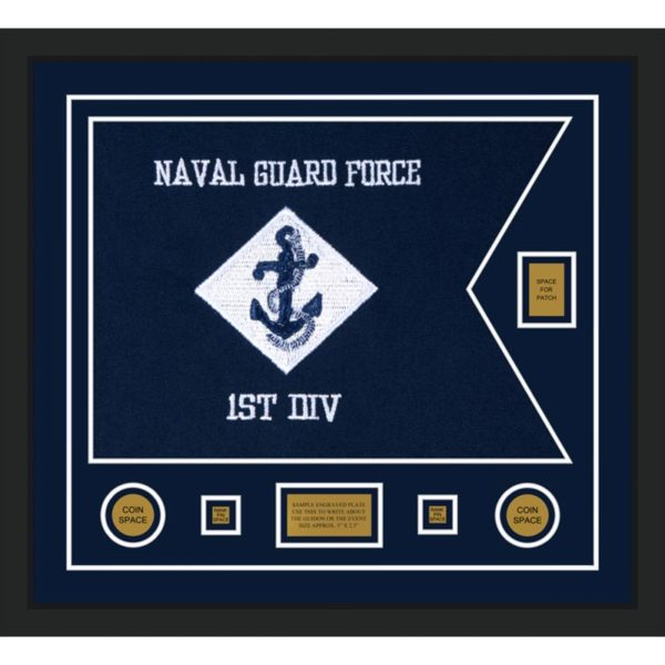 "Navy 28"" x 20"" Guidon Design 2820-D2-M5"