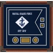 """Navy 20"""" x 15"""" Guidon Design 2015-D3-M4"""