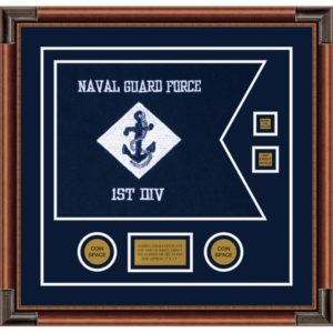 "Navy 20"" x 15"" Guidon Design 2015-D3-M4"