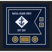 """Navy 20"""" x 15"""" Guidon Design 2015-D3-M5"""