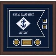 """Navy 20"""" x 15"""" Guidon Design 2015-D3-M6"""