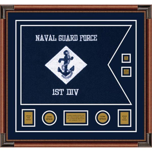 """Navy 28"""" x 20"""" Guidon Design 2820-D3-M4"""
