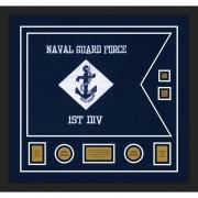 """Navy 28"""" x 20"""" Guidon Design 2820-D3-M5"""