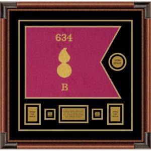 "Ordnance Corps Version 1 20"" x 15"" Guidon Design 2015-D1-M4"