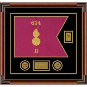 "Ordnance Corps Version 1 20"" x 15"" Guidon Design 2015-D2-M4"