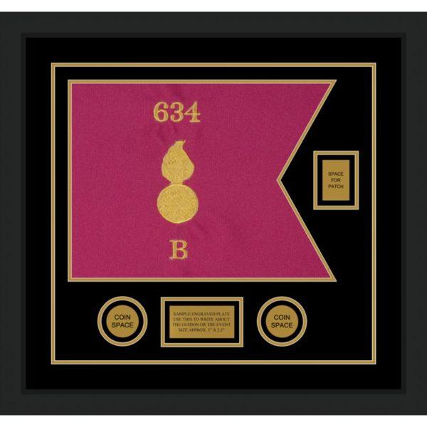 "Ordnance Corps Version 1 20"" x 15"" Guidon Design 2015-D2-M5"