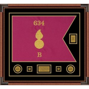 "Ordnance Corps Version 1 28"" x 20"" Guidon Design 2820-D2-M4"