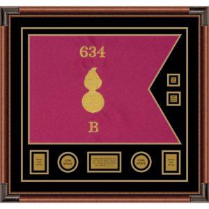 "Ordnance Corps Version 1 28"" x 20"" Guidon Design 2820-D3-M4"