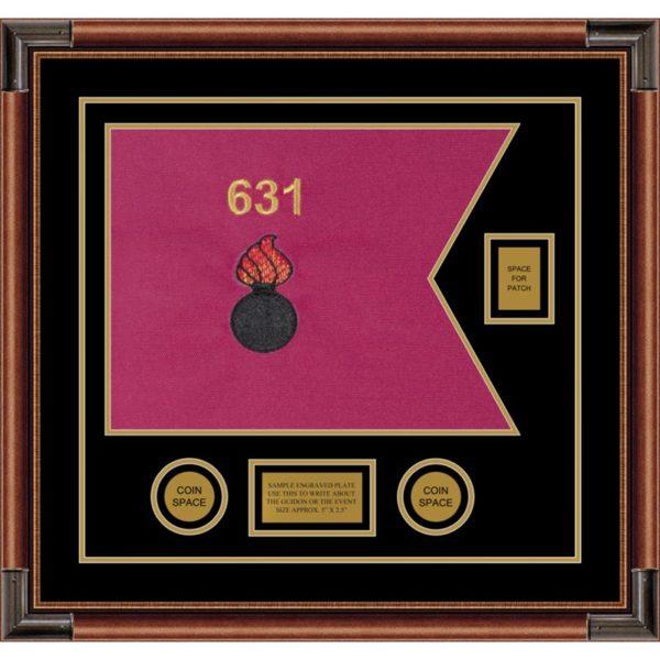 "Ordnance Corps Version 2 20"" x 15"" Guidon Design 2015-D2-M4"