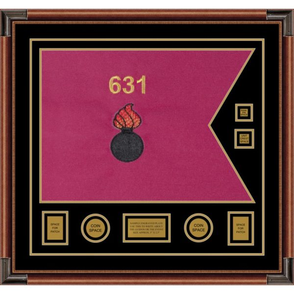 "Ordnance Corps Version 2 28"" x 20"" Guidon Design 2820-D3-M4"