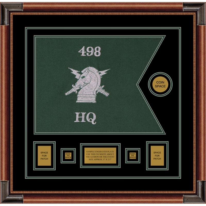 "Psychological Operations 20"" x 15"" Guidon Design 2015-D1-M4"