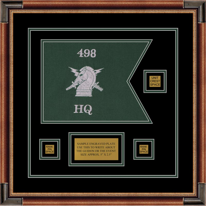 "Psychological Operations 12"" x 9"" Guidon Design 129-D2-M1"