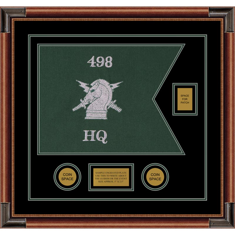 "Psychological Operations 20"" x 15"" Guidon Design 2015-D2-M4"