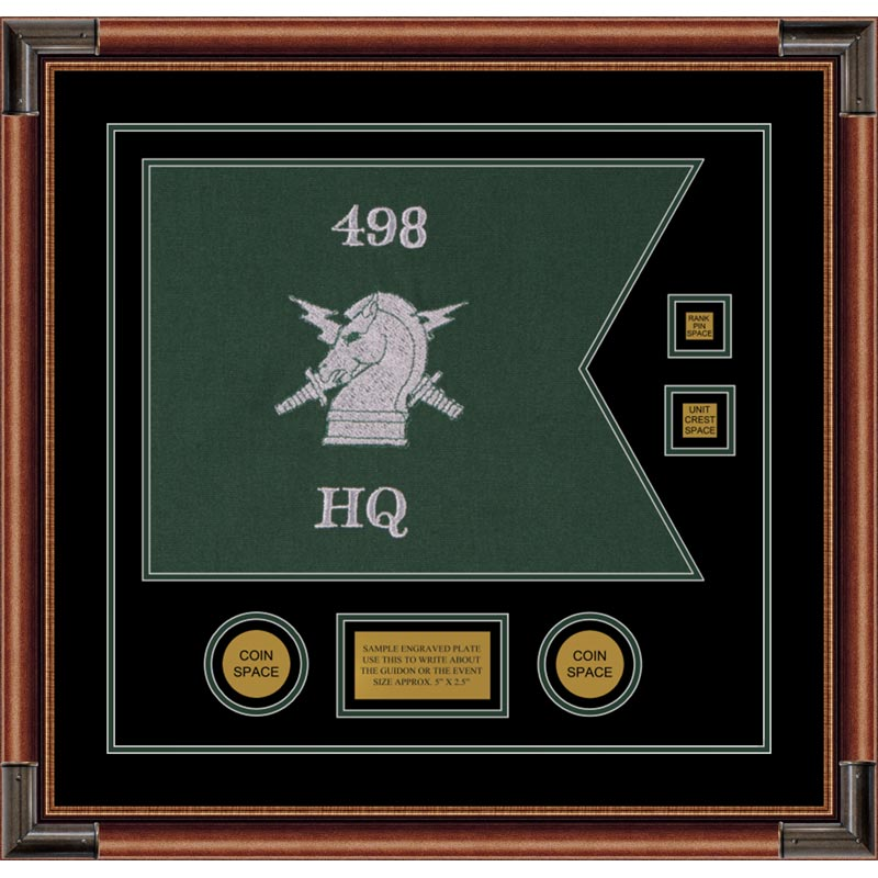 "Psychological Operations 20"" x 15"" Guidon Design 2015-D3-M4"