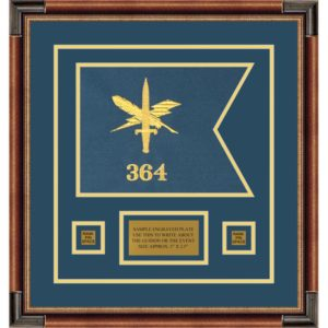 "Public Affairs 12"" x 9"" Guidon Design 129-D1-M1"