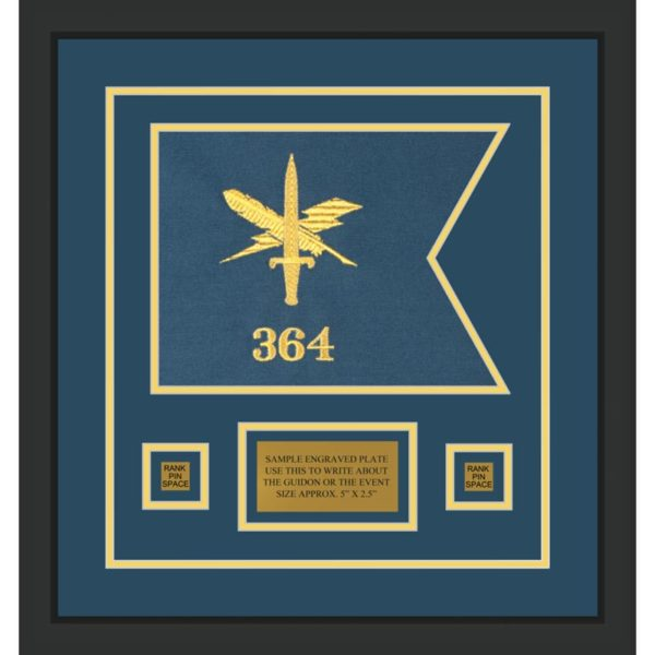 "Public Affairs 12"" x 9"" Guidon Design 129-D1-M2"
