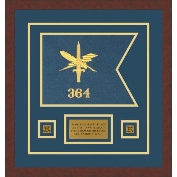 "Public Affairs 12"" x 9"" Guidon Design 129-D1-M3"