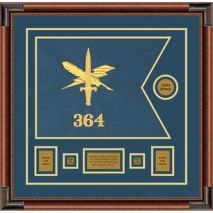 "Public Affairs 20"" x 15"" Guidon Design 2015-D1-M4"