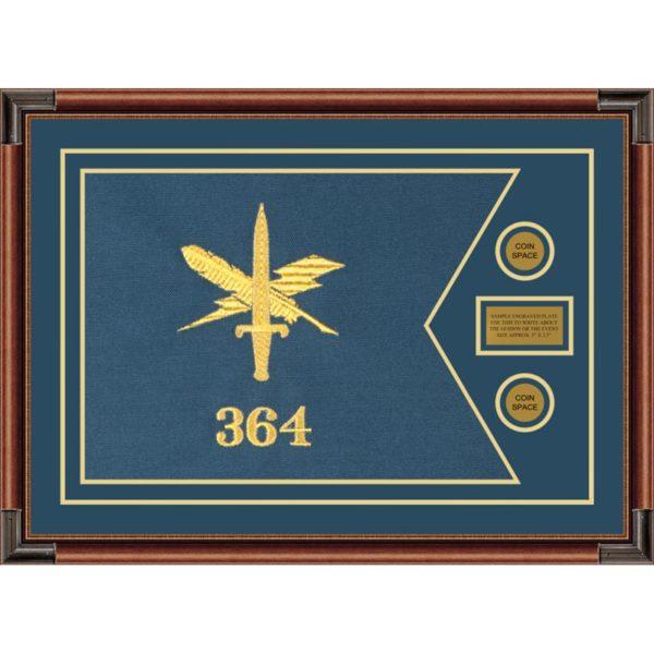 "Public Affairs 28"" x 20"" Guidon Design 2820-D1-M4"