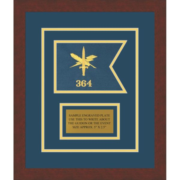 "Public Affairs 7"" x 5"" Guidon Design 75-D1-M3"