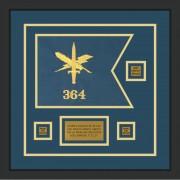 "Public Affairs 12"" x 9"" Guidon Design 129-D2-M2"