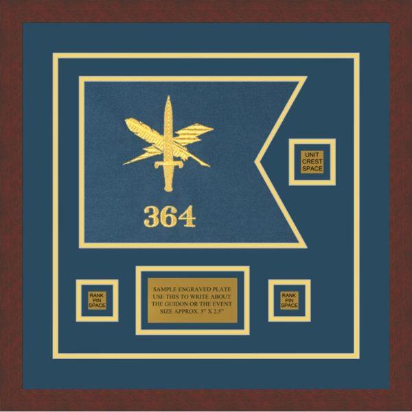 "Public Affairs 12"" x 9"" Guidon Design 129-D2-M3"
