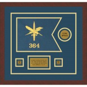 "Public Affairs 12"" x 9"" Guidon Design 129-D3-M3"