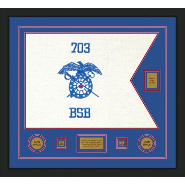 "Quartermaster 28"" x 20"" Guidon Design 2820-D2-M5"