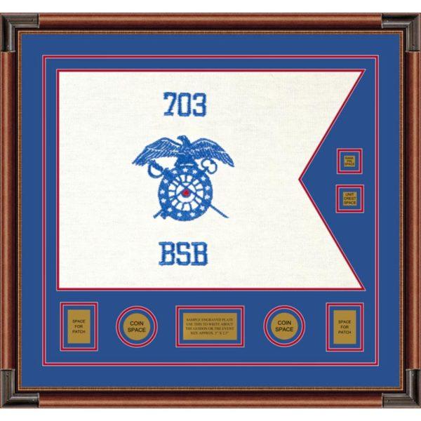 "Quartermaster 28"" x 20"" Guidon Design 2820-D3-M4"