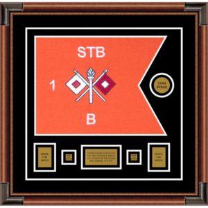 "Signal Corps 20"" x 15"" Guidon Design 2015-D1-M4"
