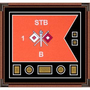 "Signal Corps 28"" x 20"" Guidon Design 2820-D3-M4"