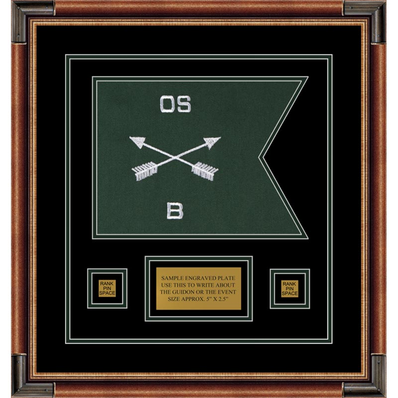 "Special Forces 12"" x 9"" Guidon Design 129-D1-M1"