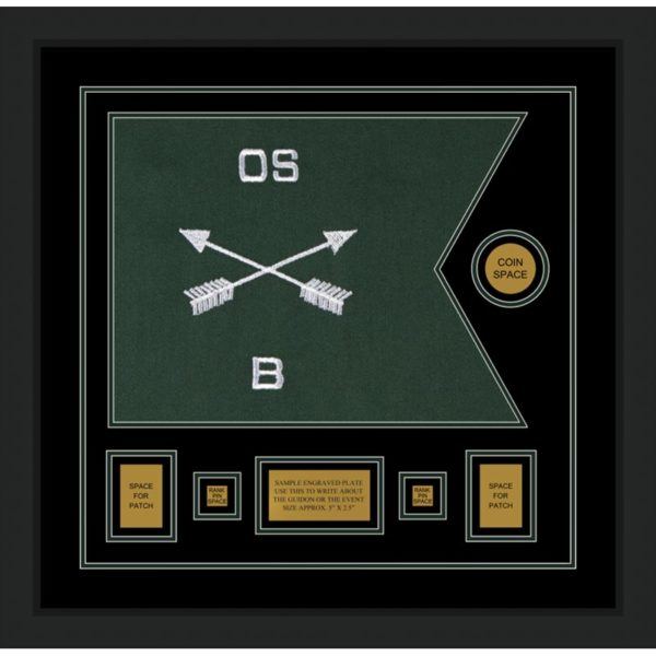 """Special Forces 20"""" x 15"""" Guidon Design 2015-D1-M5"""