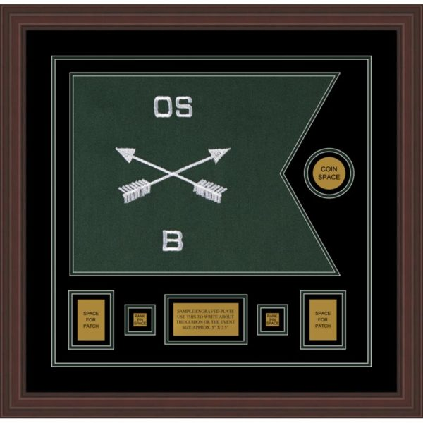 """Special Forces 20"""" x 15"""" Guidon Design 2015-D1-M6"""