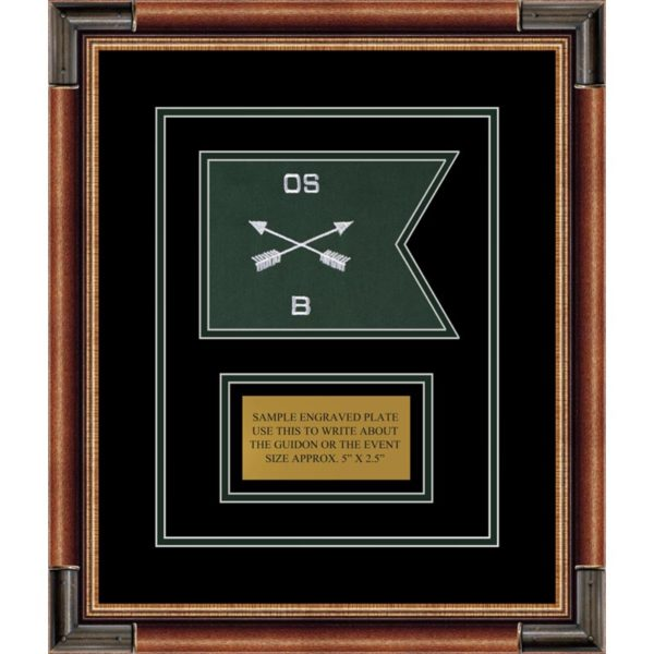 """Special Forces 7"""" x 5"""" Guidon Design 75-D1-M1"""