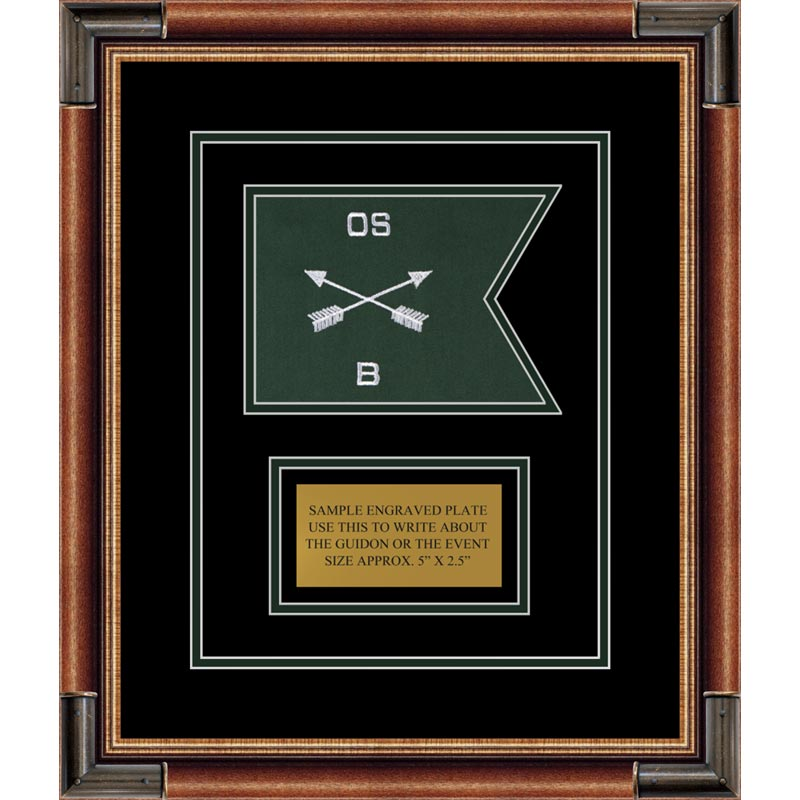"Special Forces 7"" x 5"" Guidon Design 75-D1-M1"