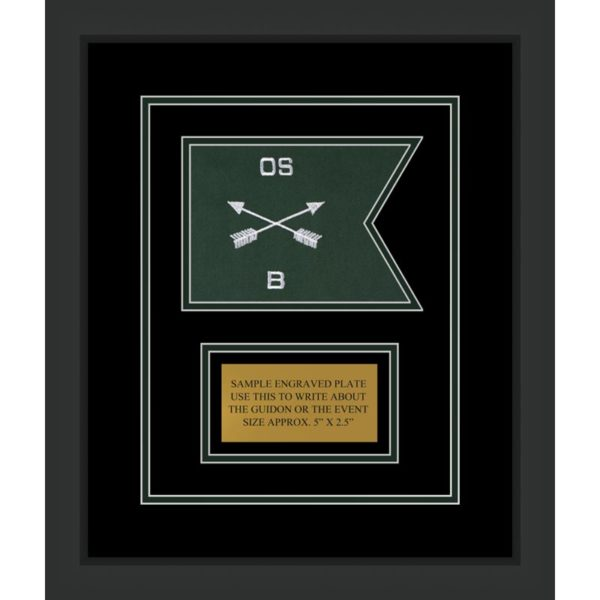 "Special Forces 7"" x 5"" Guidon Design 75-D1-M2"