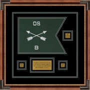 """Special Forces 12"""" x 9"""" Guidon Design 129-D2-M1"""