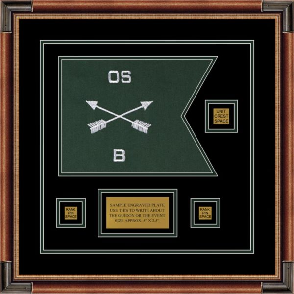 "Special Forces 12"" x 9"" Guidon Design 129-D2-M1"