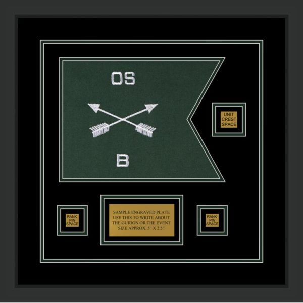 "Special Forces 12"" x 9"" Guidon Design 129-D2-M2"