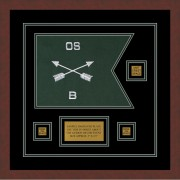"""Special Forces 12"""" x 9"""" Guidon Design 129-D2-M3"""