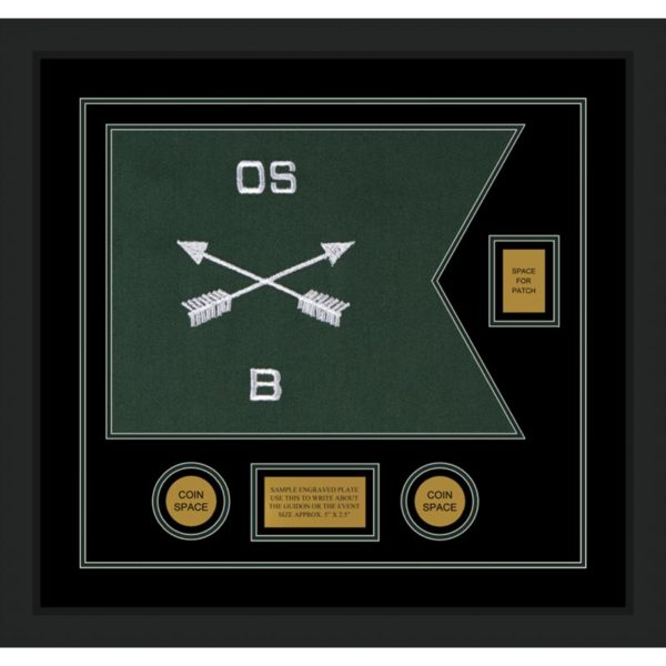 """Special Forces 20"""" x 15"""" Guidon Design 2015-D2-M5"""