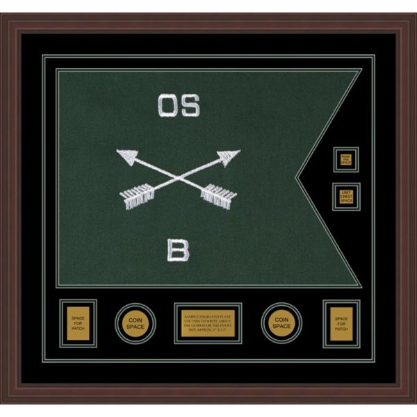 """Special Forces 28"""" x 20"""" Guidon Design 2820-D3-M6"""