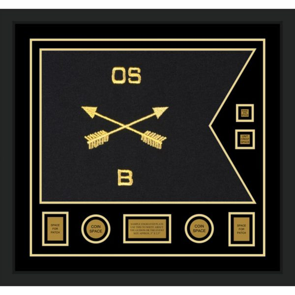 "Special Forces Version 2 28"" x 20"" Guidon Design 2820-D3-M5"